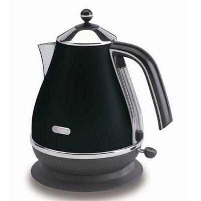 De'Longhi Icona KBO3001 Stainless Steel Kettle - Black