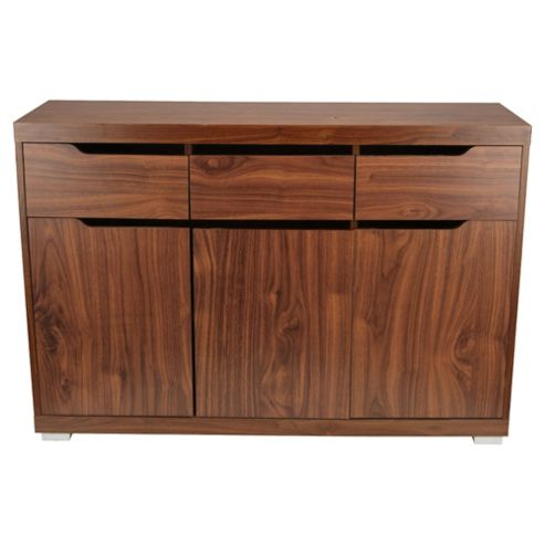 Seattle Large Sideboard, Walnut-effect