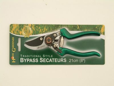 Home Gardener Hh3534 Trad Bypass Secateur 8in