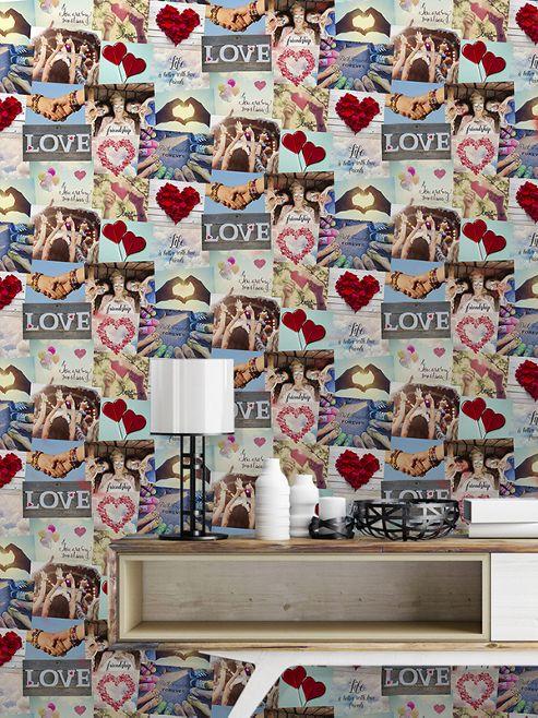 Novelty Festival Collage Multi Wallpaper