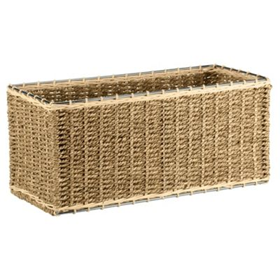 Tesco Seagrass CD Storage Box  sc 1 st  Tesco & Buy Tesco Seagrass CD Storage Box from our CD u0026 DVD Shelves range ...