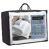 Kings & Queens Sumptuously Soft 4.5 Tog King Size Duvet