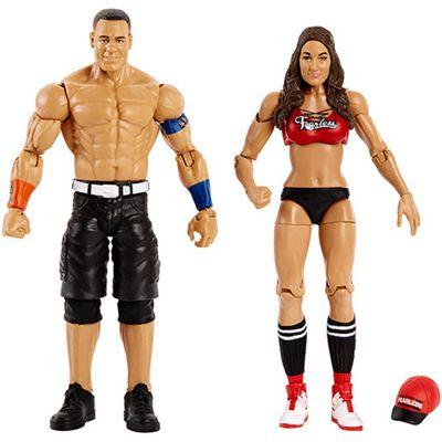 WWE® John Cena and Nikki Bella Action Figure 2 Pack
