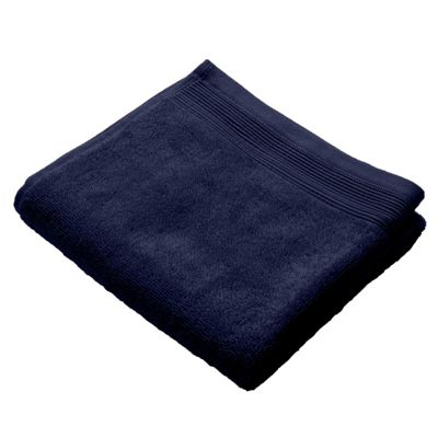 Homescapes Navy Luxury Hand Towel 500 GSM 100% Egyptian Cotton, 50 x 90 cm