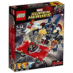LEGO Marvel Super Heroes Iron Man: Detroit Steel Strikes 76077