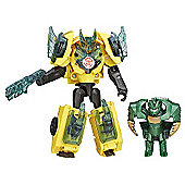 Transformers Robots in Disguise Battle Pack - Bumblebee V Major Mayhem
