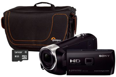 Sony HDR-PJ240 Black Camcorder Kit inc 8GB SD Card and Case