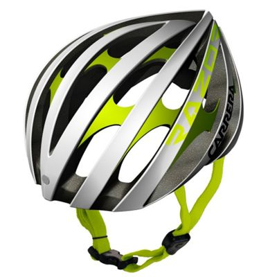Carrera E00371 Razor Road Helmet White Matt White/Lime Large Xlarge 58-61cm