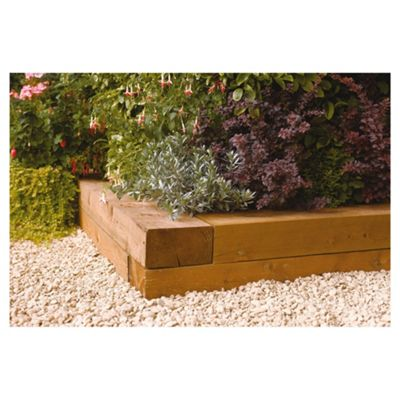 Rowlinson Heavy Duty Timber Blocks, Pack of 2 900x200mm