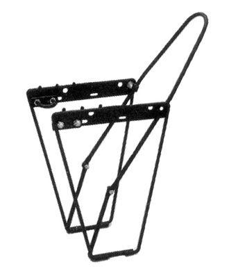 Low Rider Front Pannier Rack - Black