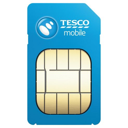 Tesco Mobile Pay as you go SIM Pack Disc