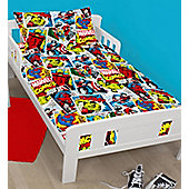 Marvel Comics Toddler Bedding - Justice