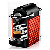 Krups Pixie Coffee Machine Red