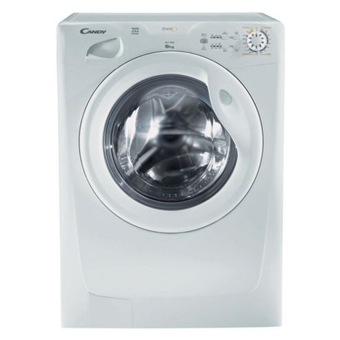 Candy GOF662 Washing Machine, 6kg Wash Load, 1600 RPM Spin, A+ Energy Rating, White