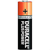 Duracell Plus Power AA 5 + 3 Free Pack Alkaline 1.5V non-rechargeable battery