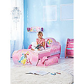 Disney Princess Toddler Bed With Storage Plus Foam Mattress