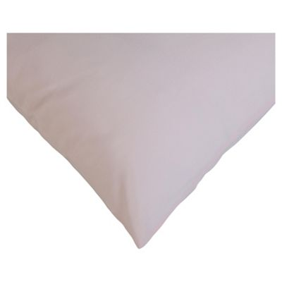 Tesco Twin Pack Pillowcase, New Pink