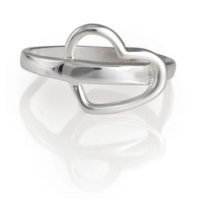Sterling Silver Heart Ring, Small