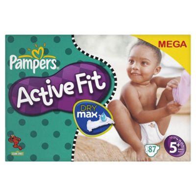 Pampers Active Fit Mega Pack Junior Plus 87