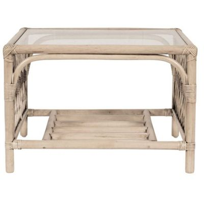 Bruges Pebble Coffee Table Excl Glass