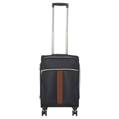 Tesco Geneva Cabin 8 Wheel Navy Suitcase