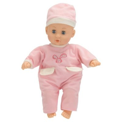Tesco My Little Cuddles Soft Baby With Sounds