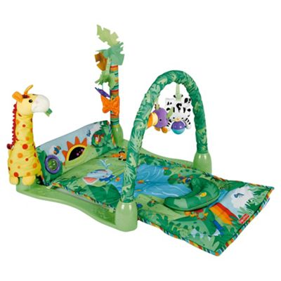 Fisher-Price Rainforest 1-2-3 Musical Baby Activity Play Gym