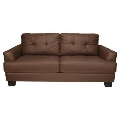 Utah Leather Sofa Large, Brown