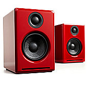 Audioengine A2+ Powered Speakers Gloss Red