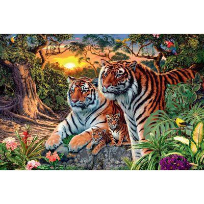 Hidden Tigers - 3000pc Puzzle
