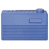 Tesco DR1703B DAB Radio blue with rubberised finish