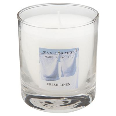 Wax Lyrical Made In England Boxed Candle Fresh Linen