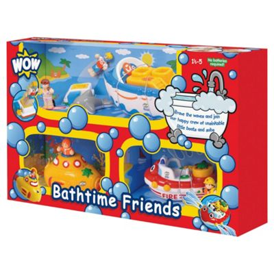 WOW Toys Bathtime Friends 3 in 1 Pack