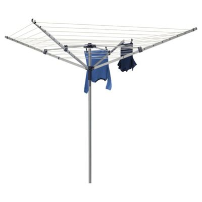 Steel 40M 4 Arm Rotary Clothes Airer