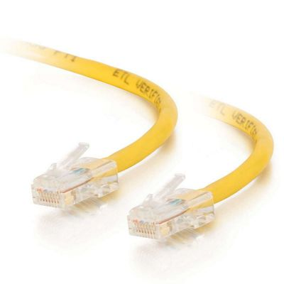Cables to Go 1m Cat5E Crossover Patch Cable Yellow