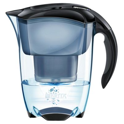 BRITA Elemaris Black 2.4 Litre Water Filter Jug