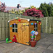4 x 4 Sutton Apex Wooden Playhouse (4ft x 4ft) - Fast Delivery - Pick A Day