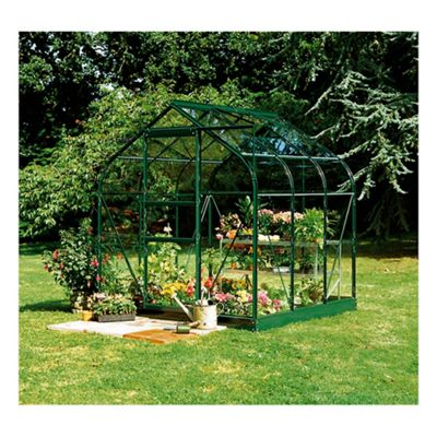 6x6 Supreme Greenframe Greenhouse Toughened Glass
