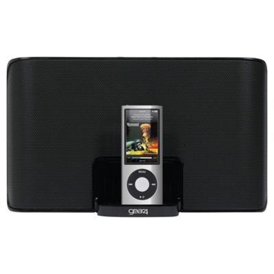 Gear4 Streetparty 3 Portable iPod Docking System Black