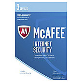 McAfee 2017 Internet Security 3 Device