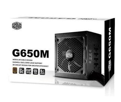Cooler Master GM-Series Semi Modular G650M 650W 80PlusBronze PSU UK Cables