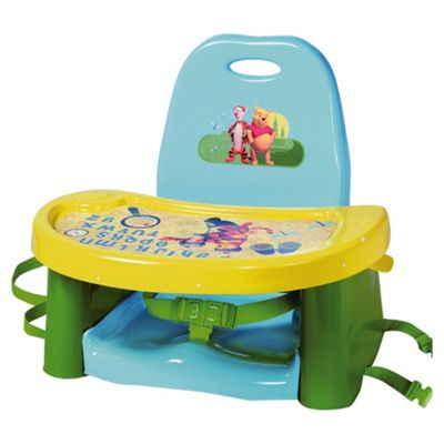 The First Years Tigger & Pooh Swing Tray Booster Seat.