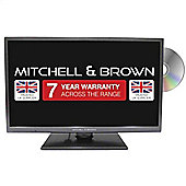 "Mitchell & Brown JB-241811FSMDVD, 24"" LED TV,with a 7 year warranty, Freeview HD,Smart, Freeview Play, and DVD Built in"