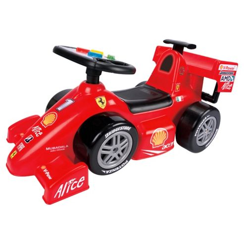 Feber Famosa Ferrari F1 Ride-On Car