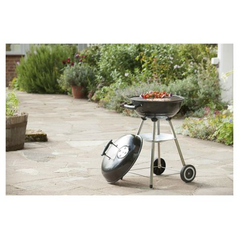 Tesco 47cm Kettle Charcoal BBQ
