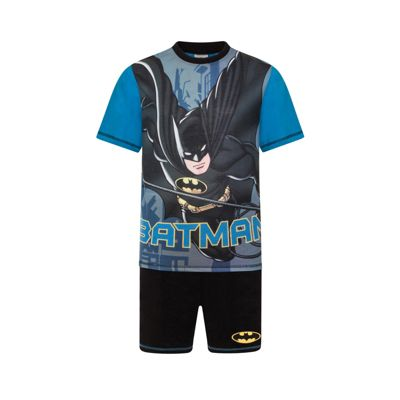 DC Comics Batman Boys Short Pyjamas Black 4-5 Years