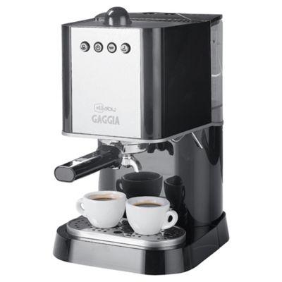 Gaggia 74820 1.6 Espresso 6 Cup Coffee Machine - Black