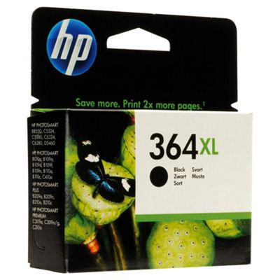 HP 364XL High Yield Black Original Printer Ink Cartridge