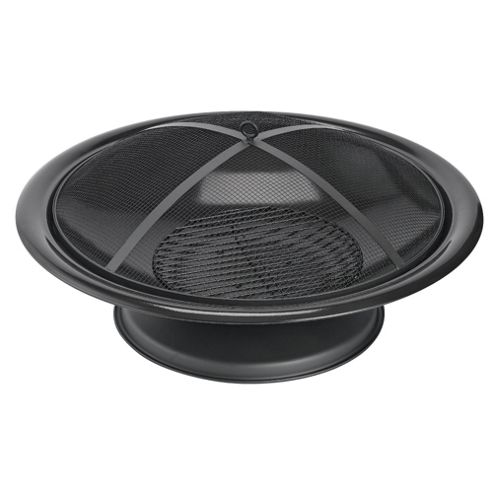 Black Outdoor Fire Pit
