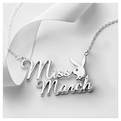 Playboy Miss March Pendant